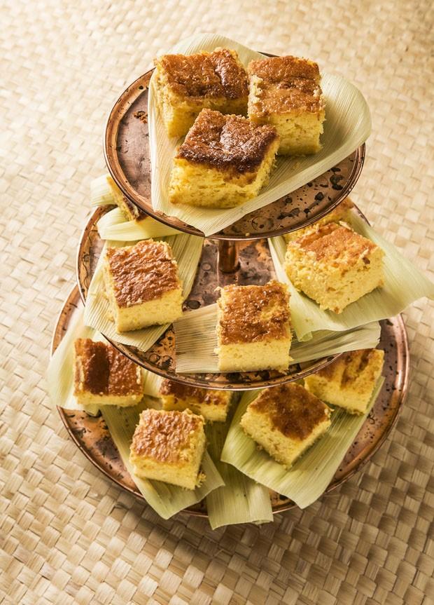 Bolo de milho cremoso: receita junina irresistível (Foto: Divulgação)