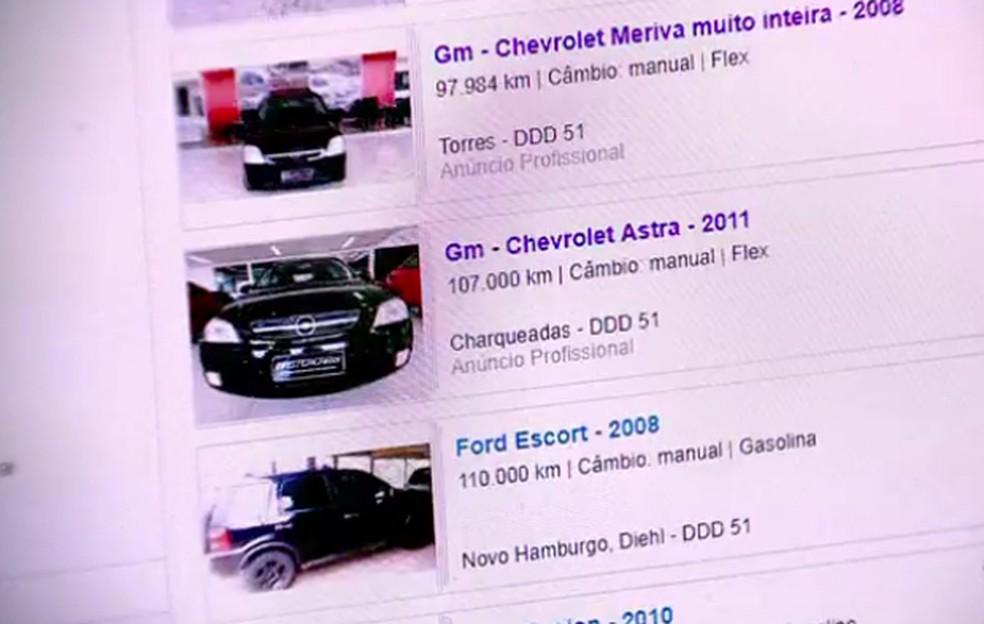 -  Polícia investiga golpes de venda de veículos aplicado na internet  Foto: Divulgação/Polícia Civil