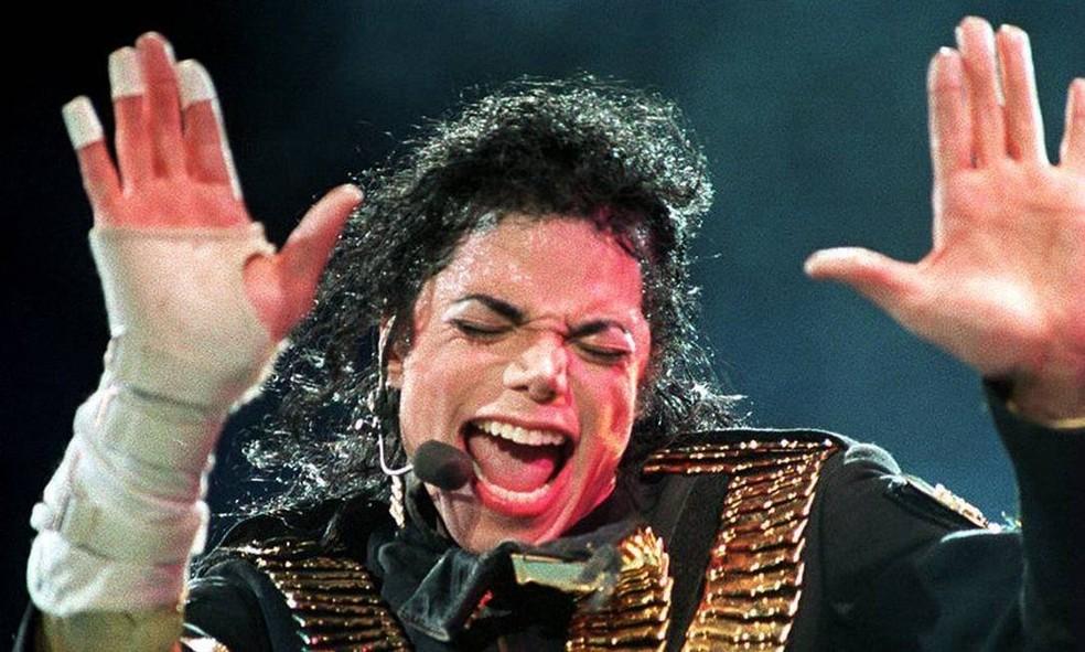 Michael Jackson - Arquivo N — Foto: Arquivo N - TV Globo