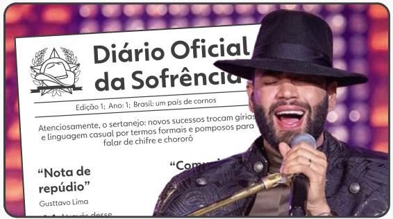 'Diário Oficial da Sofrência': sertanejos incorporam linguagem de autoridades em hits formais