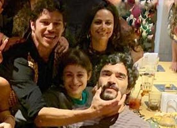 José Loreto, Luísa Arraes, Caio Blat e Viviane Araújo (Foto: Reprodução/Instagram)