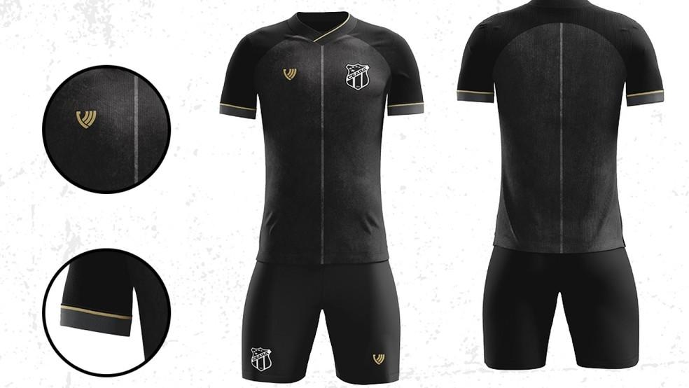 Novo uniforme do Ceará para a temporada 2020 — Foto: Cearasc/Divulgação