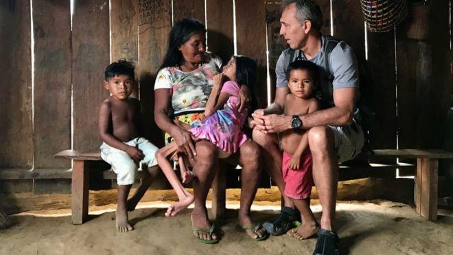 Neurocirurgião de Santarém Erik Jennings compartilha suas soluções para cuidar da saúde dos povos amazônicos e localizar desaparecidos nos rios da região (Foto: via BBC News Brasil)