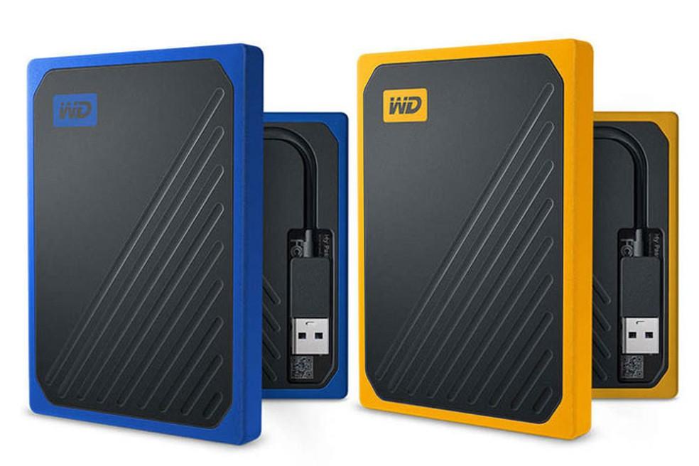 My Passport Go SSD está disponível em duas cores — Foto: Divulgação/WD