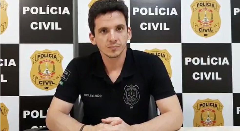 Delegado Maurício Iacozzilli — Foto: Afonso Ferreira/G1