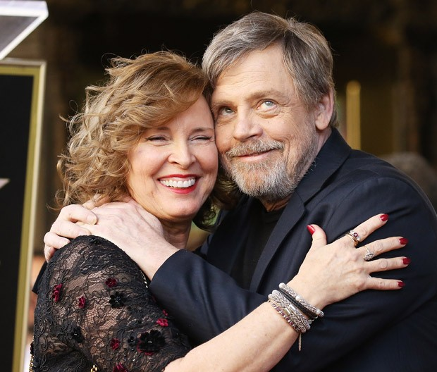 Mark Hamill e a mulher, Marilou York  (Foto: Getty Images,)