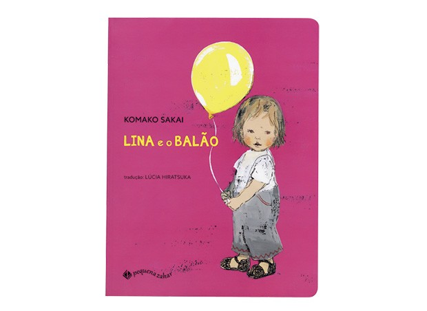 Texto e ilustrações de Komako Sakai, Editora Pequena Zahar, R$ 49,90. A partir de 2 anos. (Foto: Reprodução)