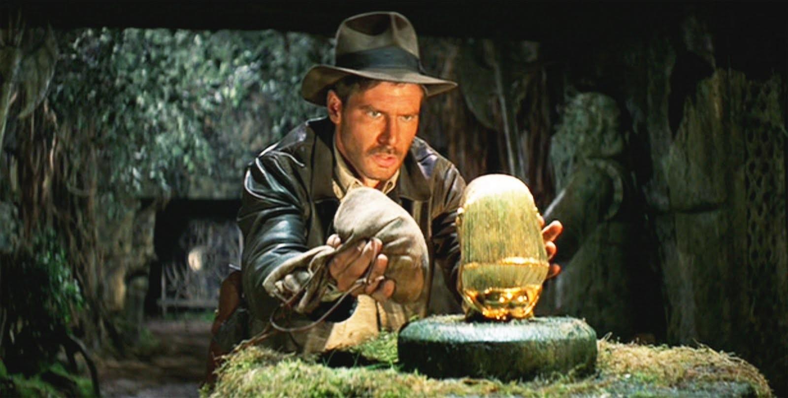 Harrison Ford no primeiro filme do que seria a série Indiana Jones (Foto: Divulgação)