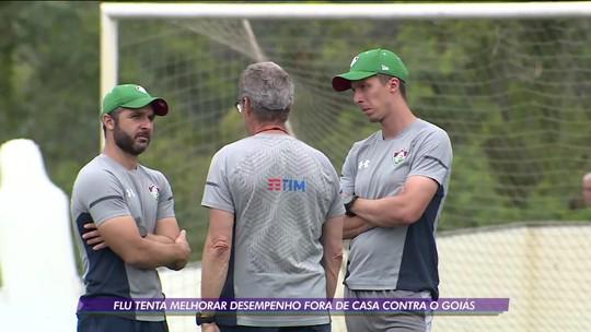 Fluminense tenta melhorar desempenho fora de casa contra o Goiás