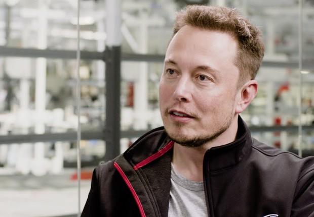 O CEO da Tesla e SpaceX, Elon Musk (Foto: Reprodução/YouTube)