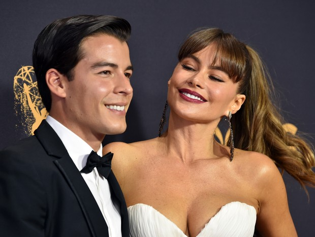 Sofia Vergara e Manolo Gonzalez Vergara (Foto: Getty)