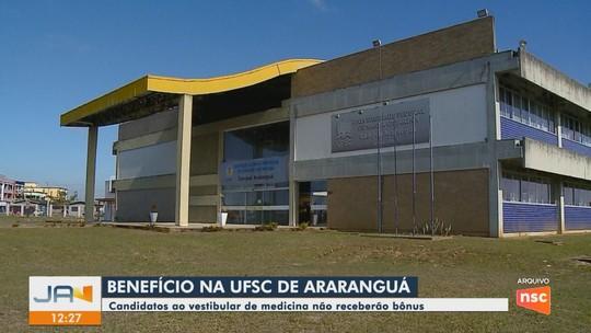 Justiça proíbe UFSC de dar benefício para candidatos do curso de medicina de Araranguá