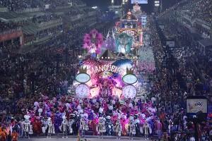 Sapucaí, desfile da Mangueira em 2018