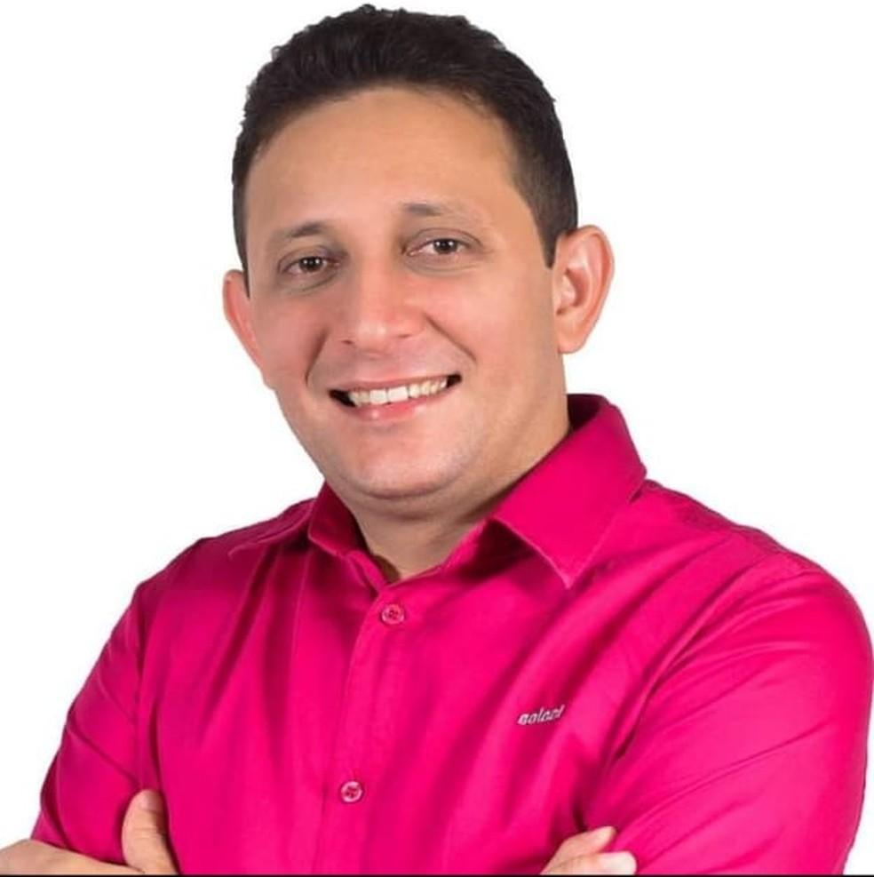 Candidato a prefeito de Dom Eliseu morto no Pará — Foto: Reprodução/ Facebook
