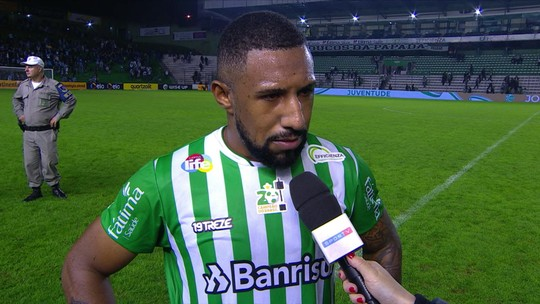 Vidal fala sobre entrega do Juventude diante do Grêmio