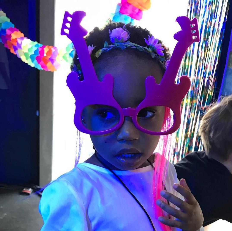 Julia, a filha de Leandra Leal, completa 4 anos (Foto: Reprodução Instagram)