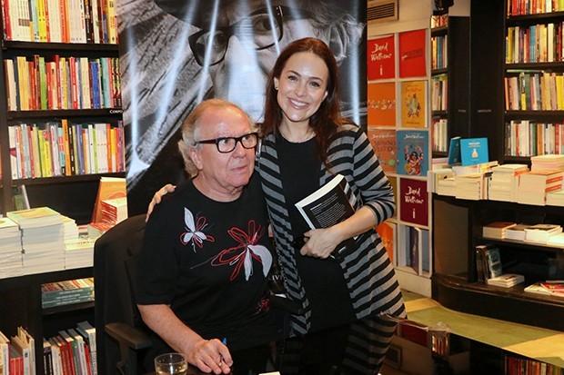 Washington Olivetto e Gabriela Duarte (Foto: Rogerio Fidalgo/ AgNews)