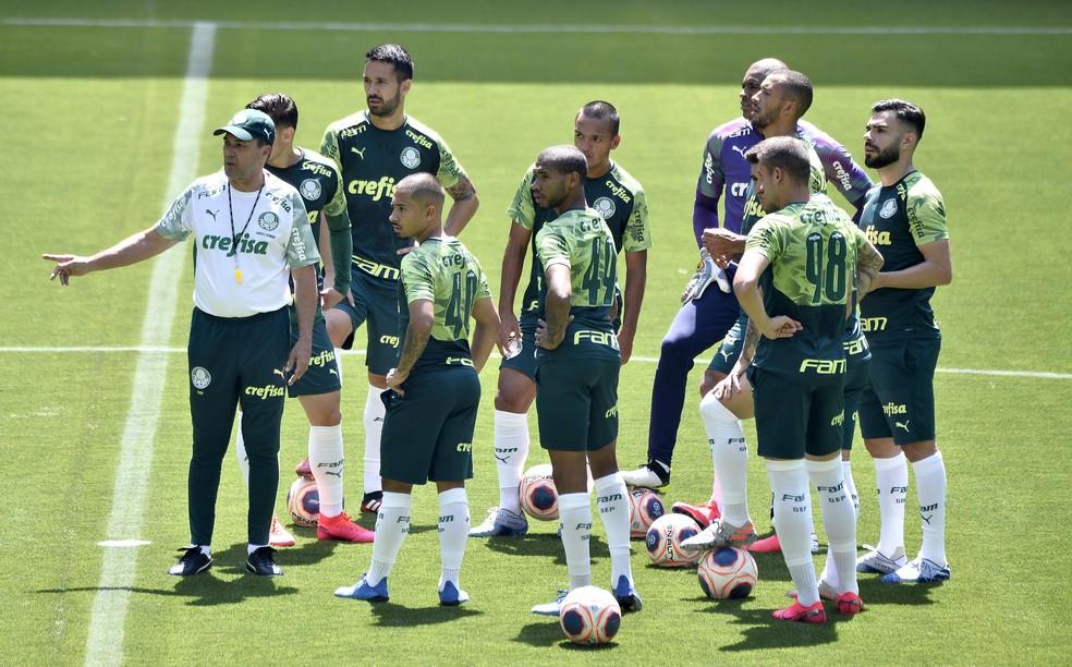 De olho no mercado, Palmeiras tem 31 atletas no elenco para 30 vagas na Libertadores | palmeiras | ge