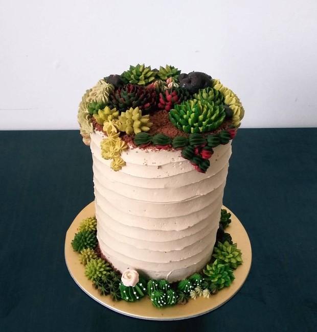 bolos-decorados-com-suculentas-terrario-cake-confeiteiro (Foto: Reprodução/Instagram)