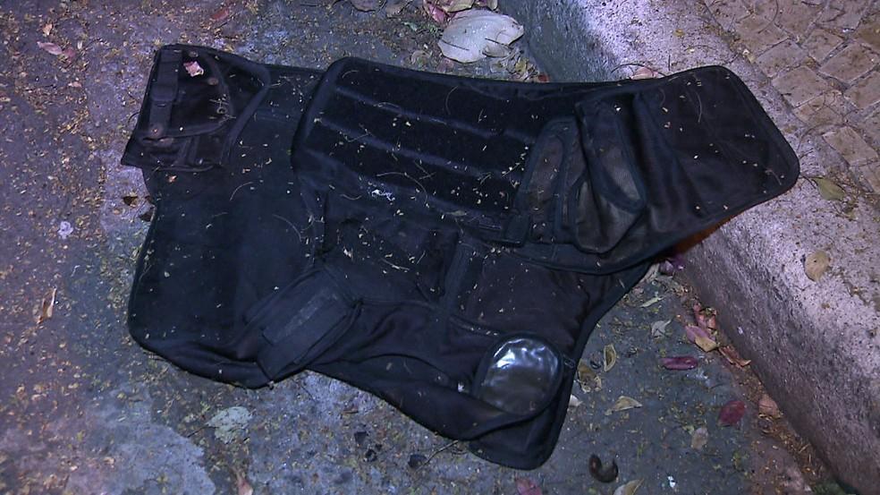 Ação da polícia contra quadrilha deixou dez mortos no Morumbi (Foto: Reprodução/TV Globo)