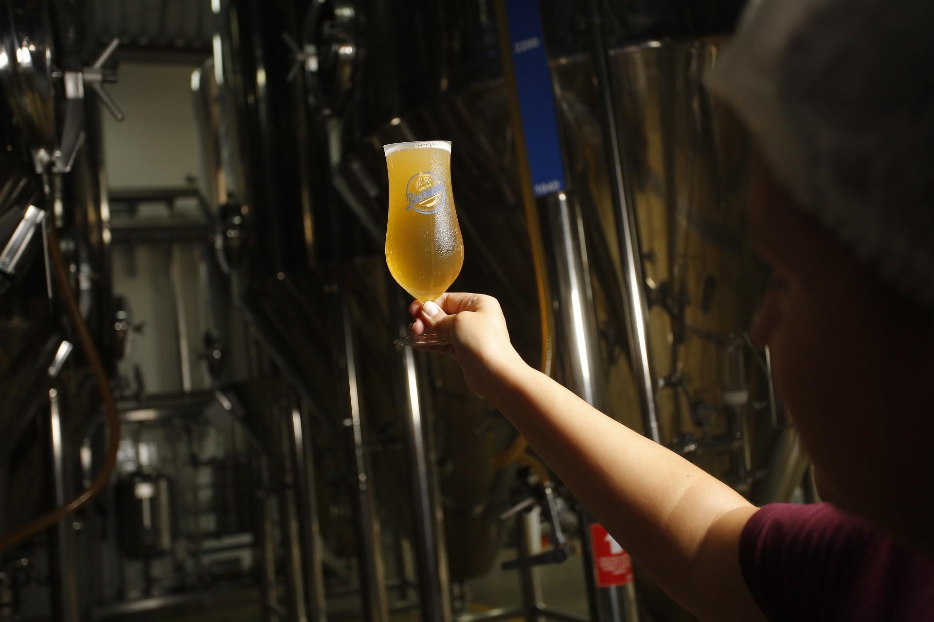 A Cervejaria Blumenal é uma das responsáveis pela criação do Catharina Sour (Foto: Daniel Zimmermann)