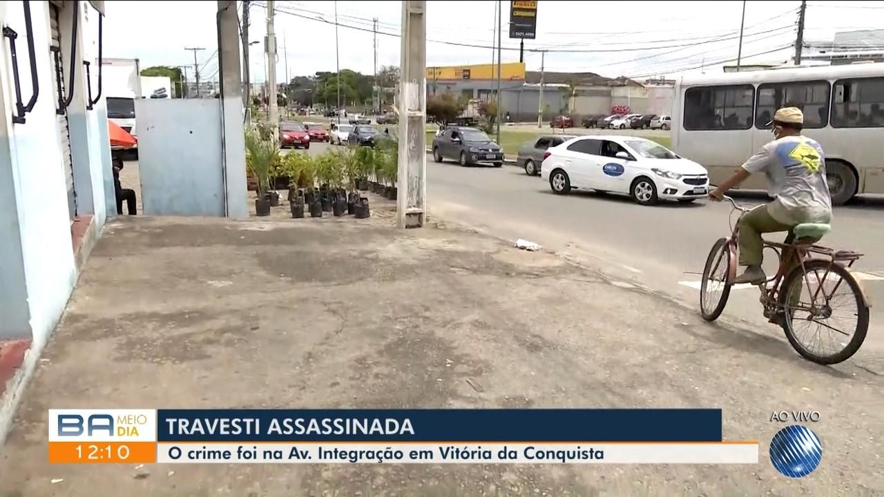 Travesti é assassinada a tiros na Av. Integração, em Vitória da Conquista