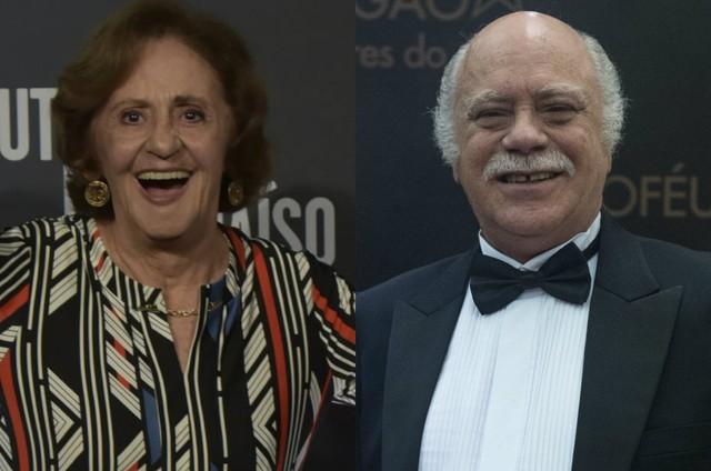 Laura Cardoso e Tonico Pereira (Foto: TV Globo)