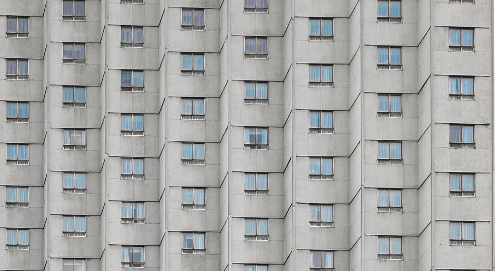 Edifício na Cidade do México — Foto: Alex Rodríguez Santibáñez/Unsplash