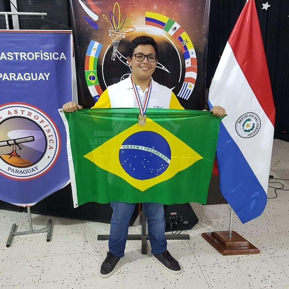 Caio Nascimento Balreira foi um dos medalhistas (Foto: Caio Nascimento Balreira )