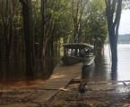 Foto publicada por Leandra Leal em seu Instagram durante as gravações na Amazônia | Reprodução