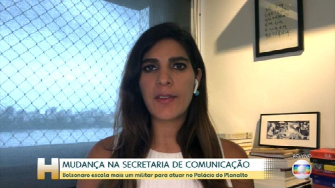 Bolsonaro escala mais um militar para governo; Almirante Rocha deve ocupar Comunicação