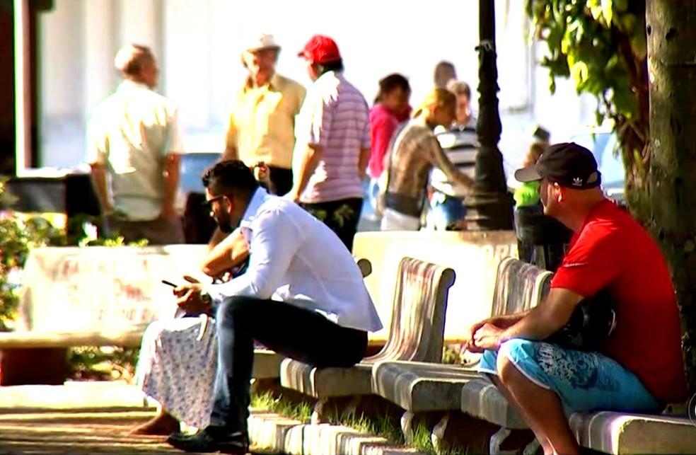 Prisão de Aldemir Bendine repercutiu nas rodas de conversas em Paraguaçu Paulista (Foto: Reprodução / TV TEM)