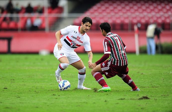 São Paulo x Fluminense (Foto: Marcos Ribolli)