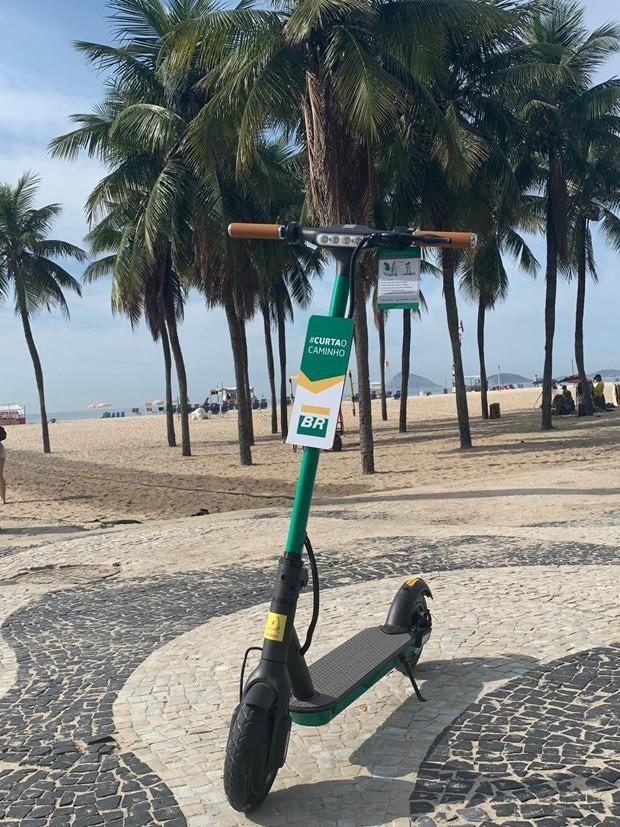 Patinetes elétricas compartilhadas chegam ao Rio de Janeiro (Foto: Divulgação )