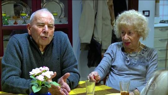 Casal de italianos se une depois de tragédia na Itália
