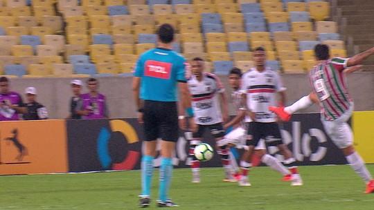 35535d1163fad Melhores momentos de Fluminense 2 x 0 Santa Cruz pela Copa do Brasil