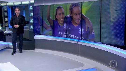 Recorde de Marta, seleção da Fifa e os gols da noite do Brasileirão