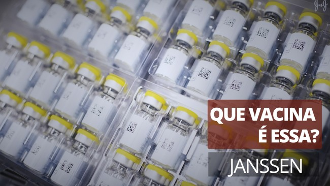 Que vacina é essa? Janssen (Johnson&Johnson)
