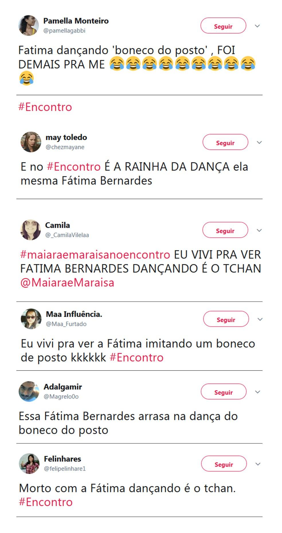 Internautas se divertem com a 'Batalha Musical' (Foto: Twitter/Reprodução)