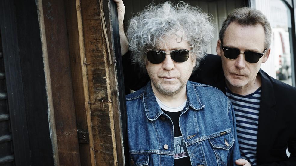 Os irmãos William e Jim Reid formam o The Jesus and Mary Chain — Foto: Divulgação