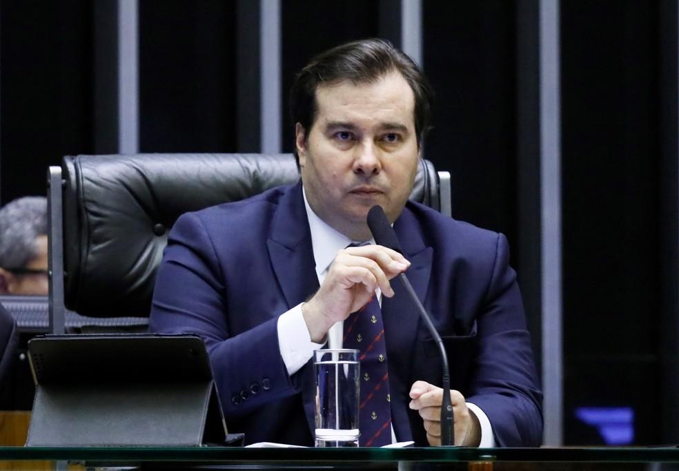 O presidente da Câmara dos Deputados, Rodrigo Maia (DEM-RJ) — Foto: Luis Macedo / Câmara dos Deputados