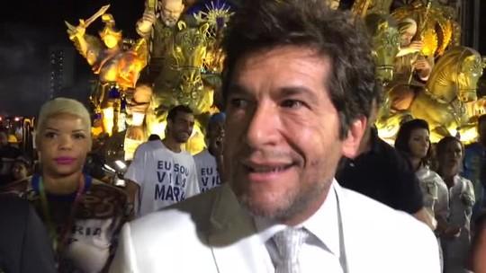 Cantor Daniel se diz honrado em homenagear Nossa Senhora no carnaval: 'É nossa mãezinha'