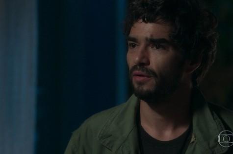 Geandro (Caio Blat) irá para São Paulo atrás de Lourdes Maria e, depois de salvá-la, lhe dará um fora (Foto: TV Globo)