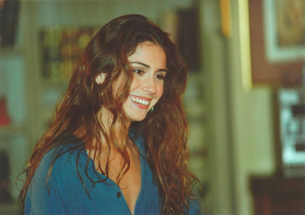 Giovanna Antonelli no papel de Capitu em 'Laços de Família' — Foto: Acervo Globo