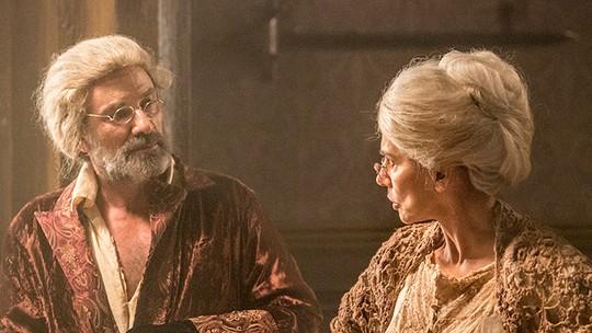 Mão de Luva e Dionísia aparecem mais velhos no último episódio do spin-off 'A Lenda do Mão de Luva'