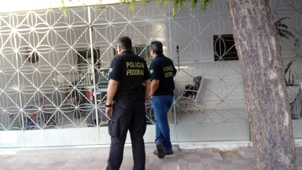 Operação Recidiva acontece em cidades da Paraíba e Ceará. — Foto: Polícia Federal/PB/Divulgação