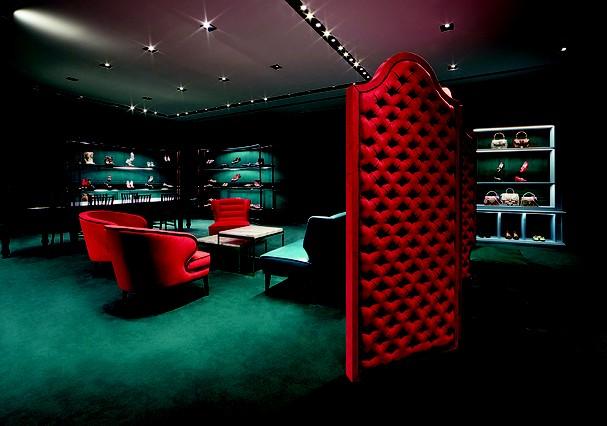 O showrrom onde serão exibidos os sapatos pioneiros da Gucci (Foto: divulgação)