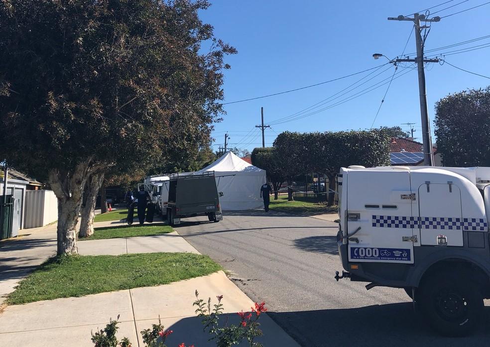 -  5 pessoas são encontradas mortas em Perth, na Austrália  Foto: Amelia Broun/Twitter
