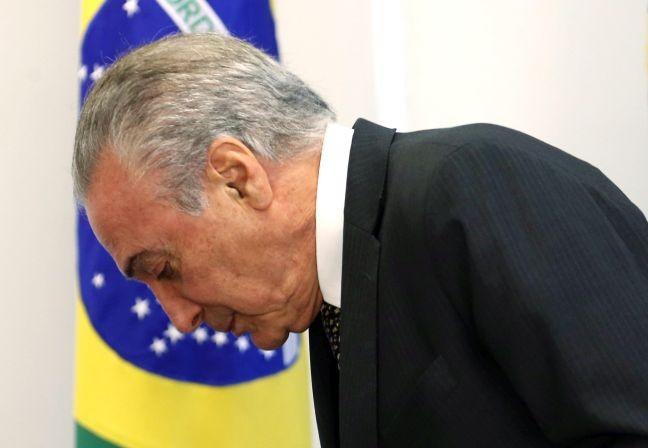 Michel Temer, presidente da República (Foto: Givaldo Barbosa / Agência O Globo)
