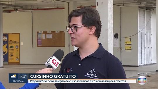 Seleção de curso pré-técnico da UFMG está com inscrições abertas em Belo Horizonte
